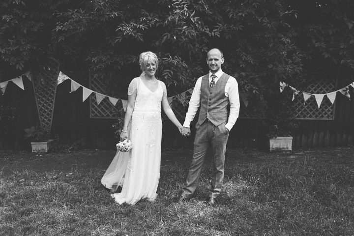 42 Ellie & Neil's Vintage, Shabby Chic Wedding. By Scuffins Photography