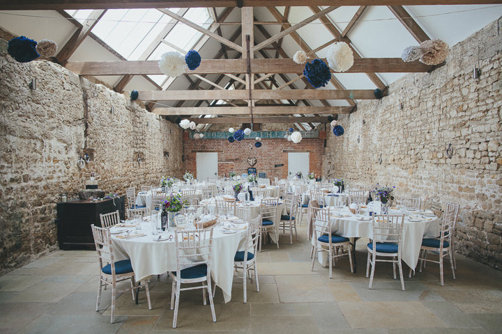 42 Katy & Steven's Navy Dorset Barn Wedding. By Helen Lisk
