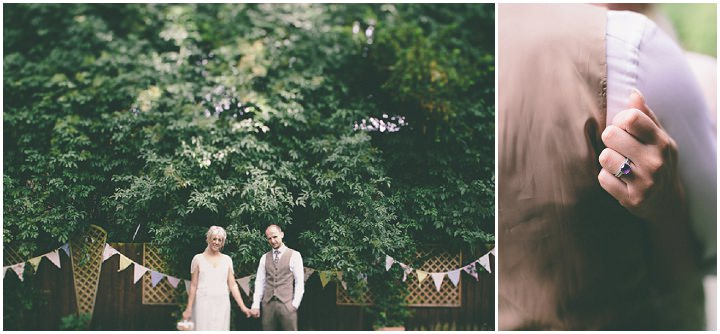 43 Ellie & Neil's Vintage, Shabby Chic Wedding. By Scuffins Photography