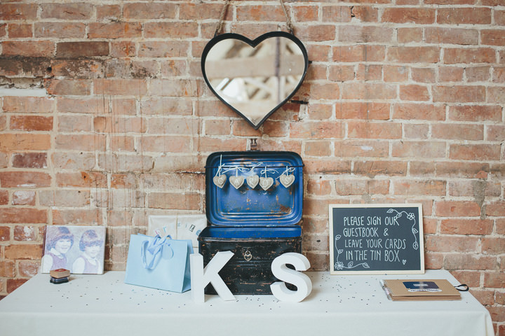 44 Katy & Steven's Navy Dorset Barn Wedding. By Helen Lisk
