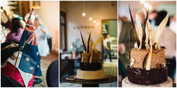 45 Brigitta & Iain's Natural Woodland Inspired Wedding. By Photos by Zoe