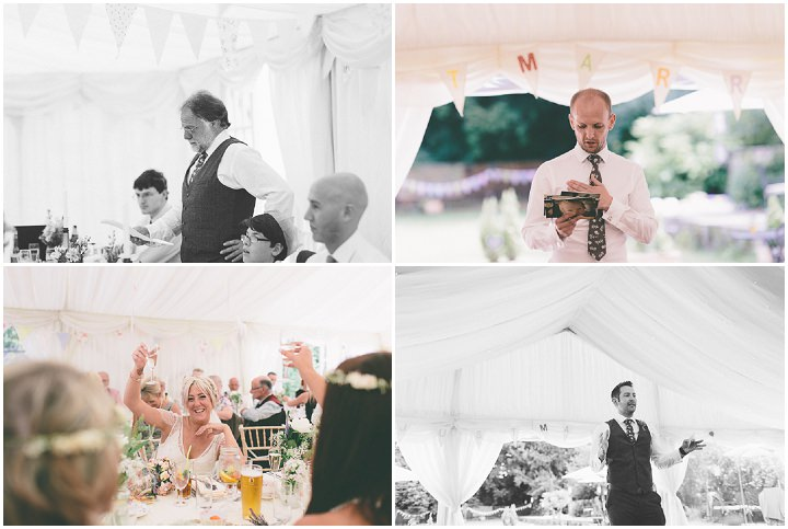 47 Ellie & Neil's Vintage, Shabby Chic Wedding. By Scuffins Photography