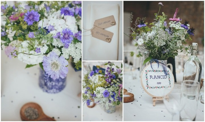 47 Katy & Steven's Navy Dorset Barn Wedding. By Helen Lisk
