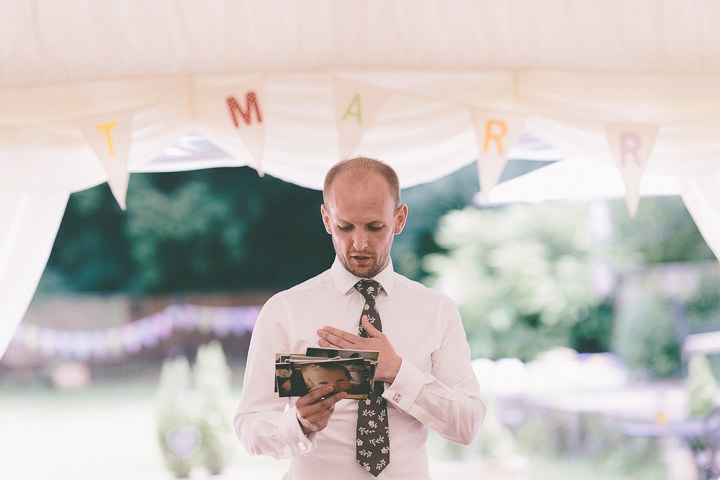 48 Ellie & Neil's Vintage, Shabby Chic Wedding. By Scuffins Photography