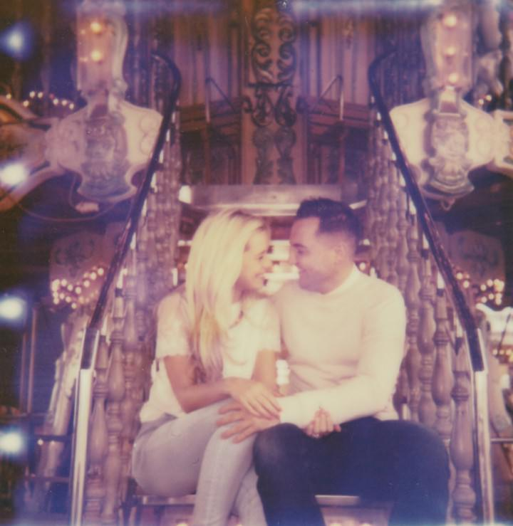 5 Rebecca & Gary's Blackpool Pre-Wedding Shoot. By Claire Penn
