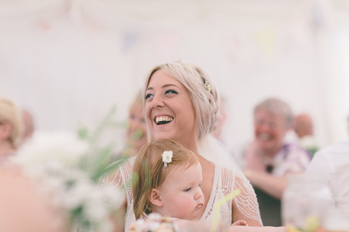 51 Ellie & Neil's Vintage, Shabby Chic Wedding. By Scuffins Photography