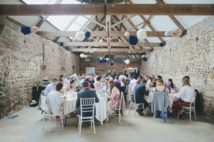 51 Katy & Steven's Navy Dorset Barn Wedding. By Helen Lisk