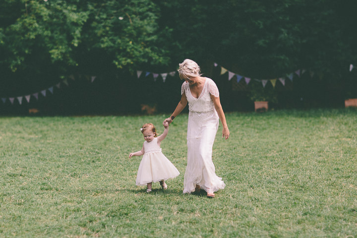 52 Ellie & Neil's Vintage, Shabby Chic Wedding. By Scuffins Photography