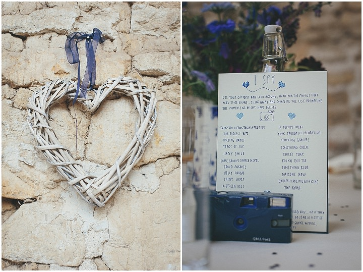 52 Katy & Steven's Navy Dorset Barn Wedding. By Helen Lisk