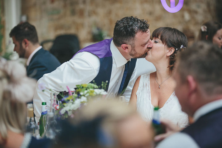 53 Katy & Steven's Navy Dorset Barn Wedding. By Helen Lisk