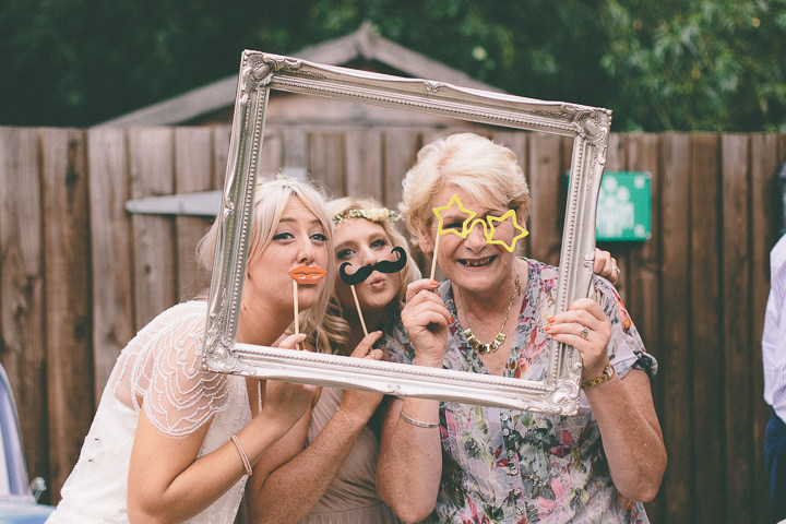 54 Ellie & Neil's Vintage, Shabby Chic Wedding. By Scuffins Photography