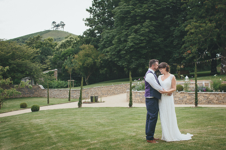 54 Katy & Steven's Navy Dorset Barn Wedding. By Helen Lisk