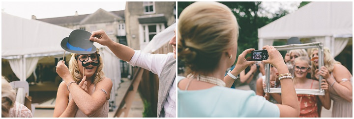 55 Ellie & Neil's Vintage, Shabby Chic Wedding. By Scuffins Photography