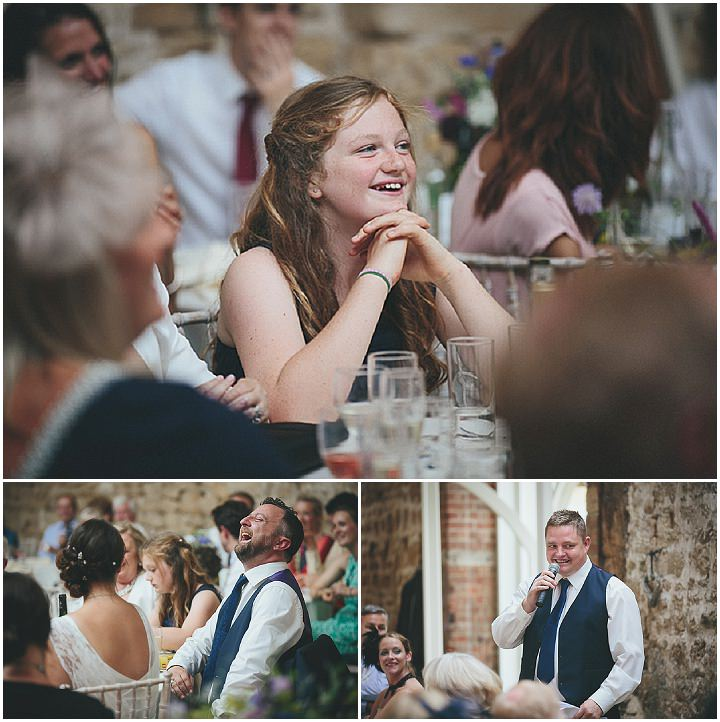 56 Katy & Steven's Navy Dorset Barn Wedding. By Helen Lisk