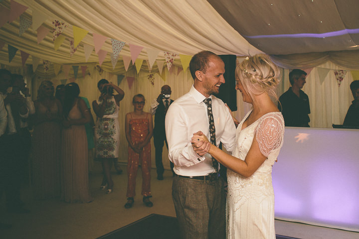 58 Ellie & Neil's Vintage, Shabby Chic Wedding. By Scuffins Photography