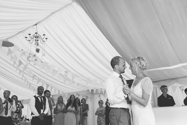 59 Ellie & Neil's Vintage, Shabby Chic Wedding. By Scuffins Photography