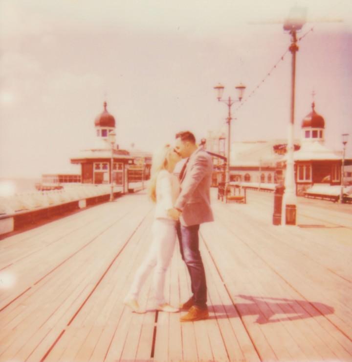 6 Rebecca & Gary's Blackpool Pre-Wedding Shoot. By Claire Penn