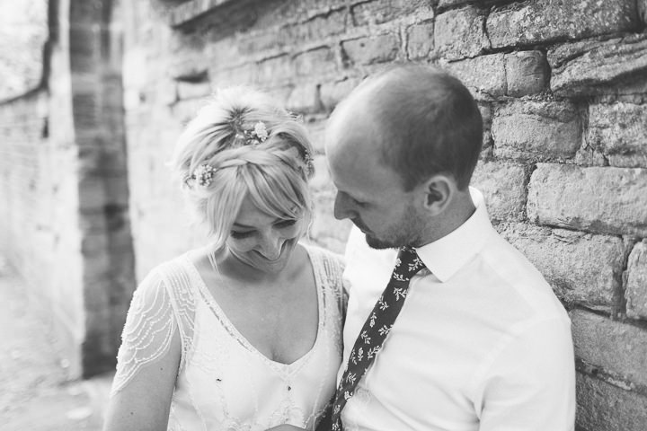 61 Ellie & Neil's Vintage, Shabby Chic Wedding. By Scuffins Photography
