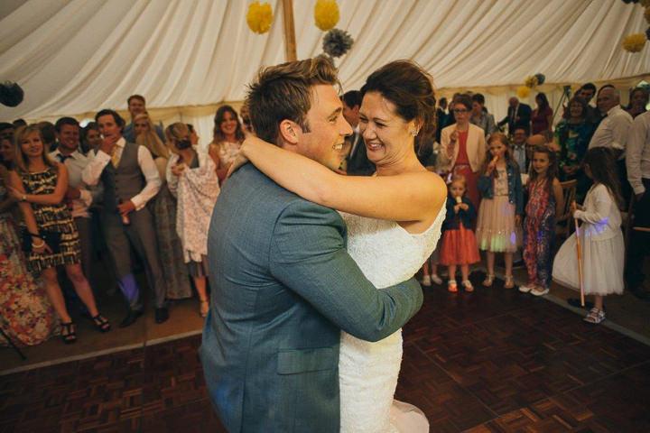 64 Katie & Chris' Vintage Inspired Rustic Wedding. By Funky Pixel