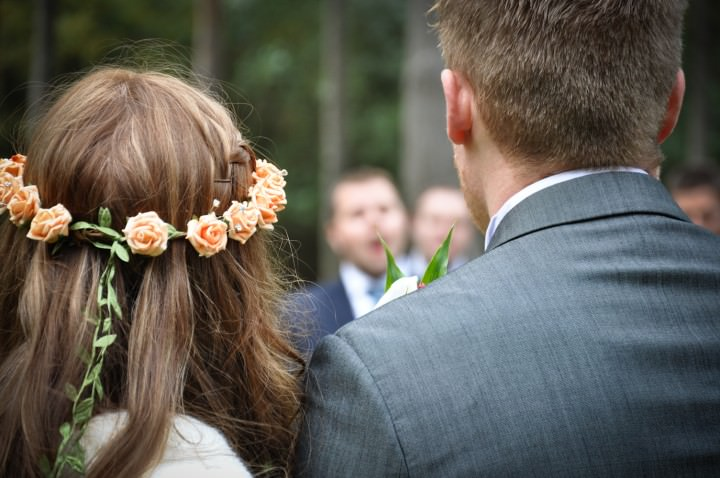 8 Emma & Daniel's Rustic Woodland Wedding. By Jay Morgan