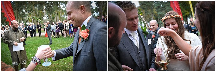 9 Emma & Daniel's Rustic Woodland Wedding. By Jay Morgan
