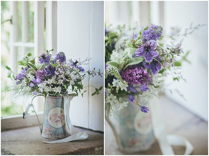 9 Katy & Steven's Navy Dorset Barn Wedding. By Helen Lisk