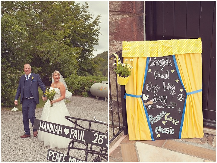 15 Yellow DIY Wedding By Darren Mack