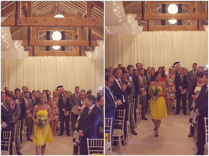 17 Yellow DIY Wedding By Darren Mack