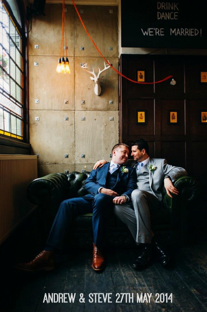 1a Gay London Wedding By Babb Photos
