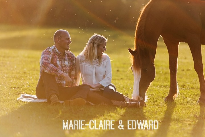 1a Horse Loving Pre Wedding Shoot. By Tom Redman