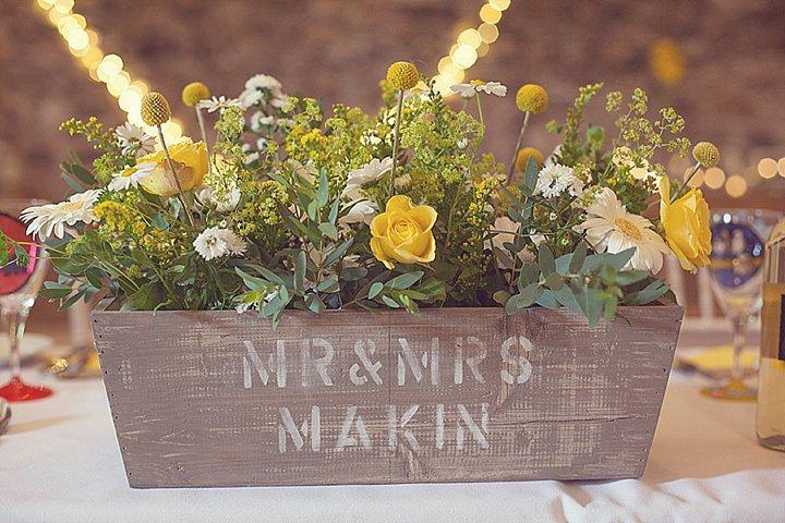 2 Yellow DIY Wedding By Darren Mack