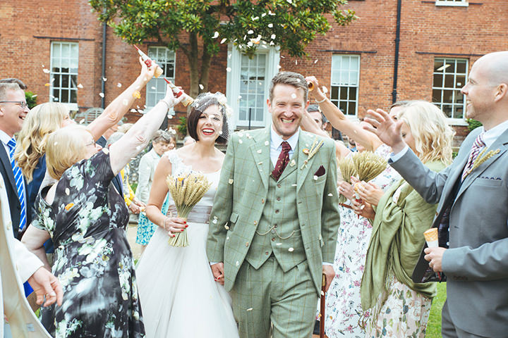 25 Vintage Barn Wedding with a Candy Anthony Dress. By Tom Halliday