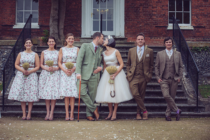 Vintage Barn Wedding With A Candy Anthony Dress By Tom Halliday
