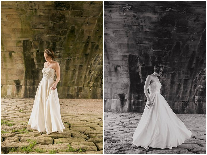 27 Wedding with a Homemade Wedding Dress. By Paul Joseph Photography