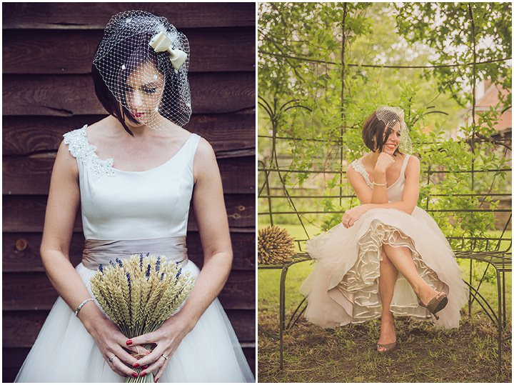 29 Vintage Barn Wedding with a Candy Anthony Dress. By Tom Halliday