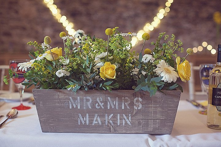 36 Yellow DIY Wedding By Darren Mack