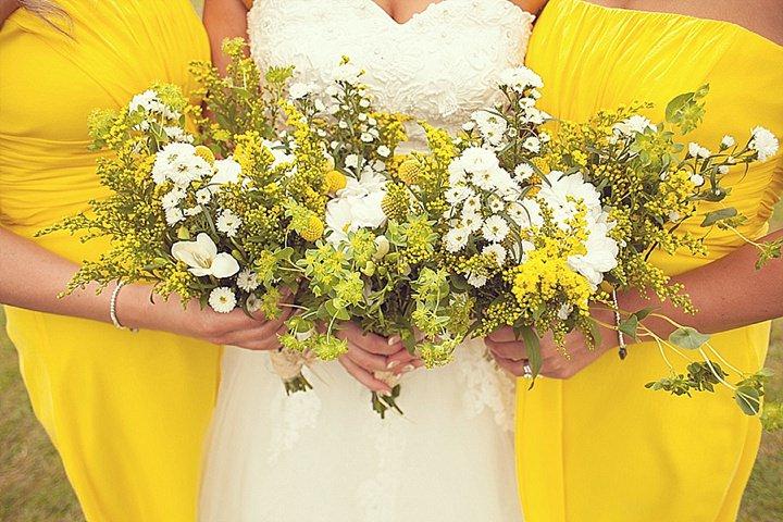 4 Yellow DIY Wedding By Darren Mack