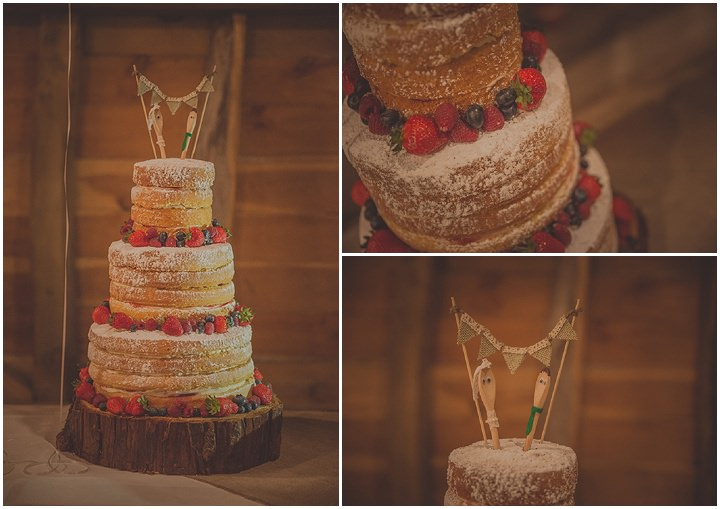 40 Vintage Barn Wedding with a Candy Anthony Dress. By Tom Halliday