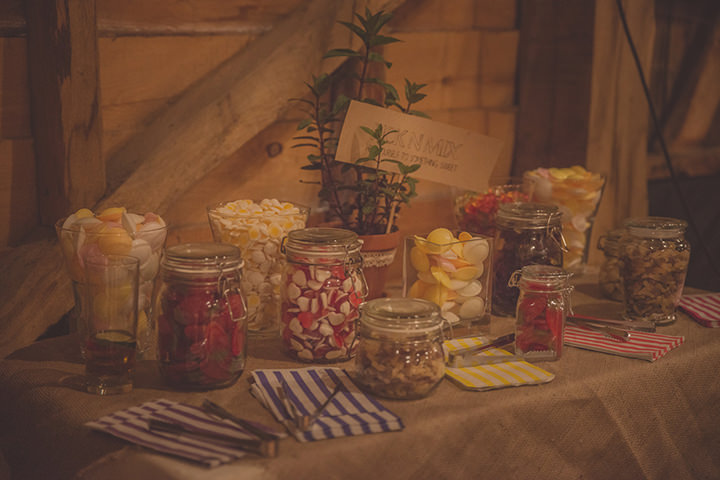 42 Vintage Barn Wedding with a Candy Anthony Dress. By Tom Halliday