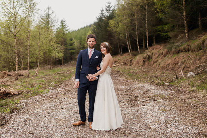 44 Wedding with a Homemade Wedding Dress. By Paul Joseph Photography