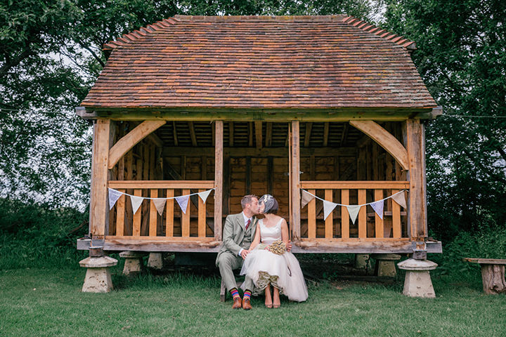 45 Vintage Barn Wedding with a Candy Anthony Dress. By Tom Halliday