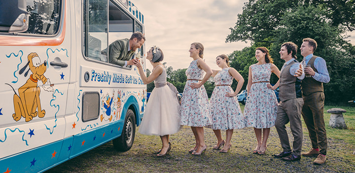 49 Vintage Barn Wedding with a Candy Anthony Dress. By Tom Halliday