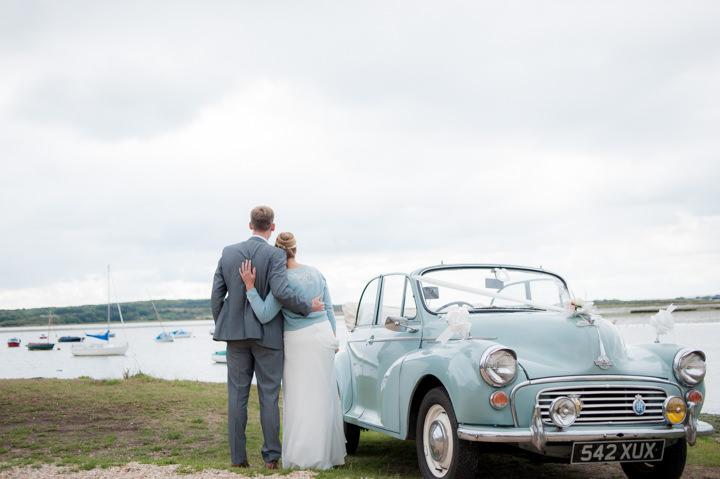 5 Beautiful Beach Wedding in Dorset. By Anna Morgan