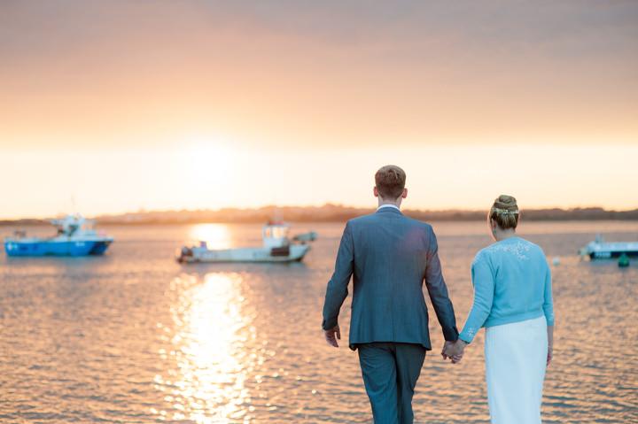 50 Beautiful Beach Wedding in Dorset. By Anna Morgan