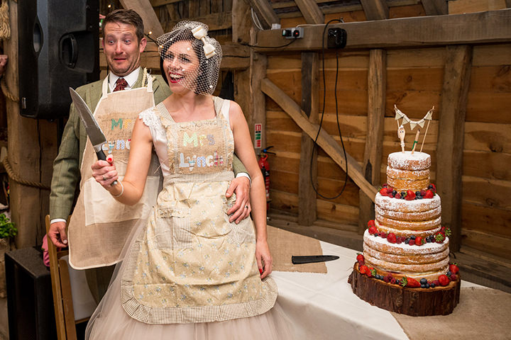 53 Vintage Barn Wedding with a Candy Anthony Dress. By Tom Halliday