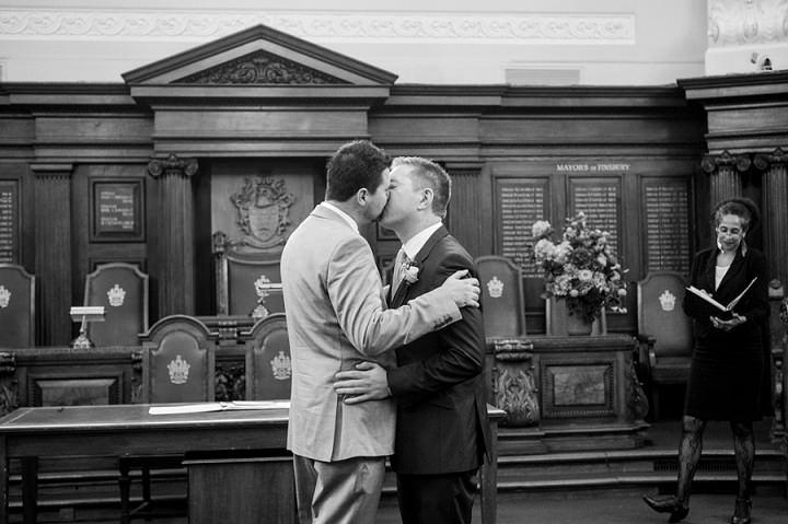 8 Gay London Wedding By Babb Photos