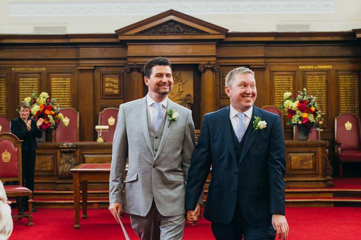 9 Gay London Wedding By Babb Photos