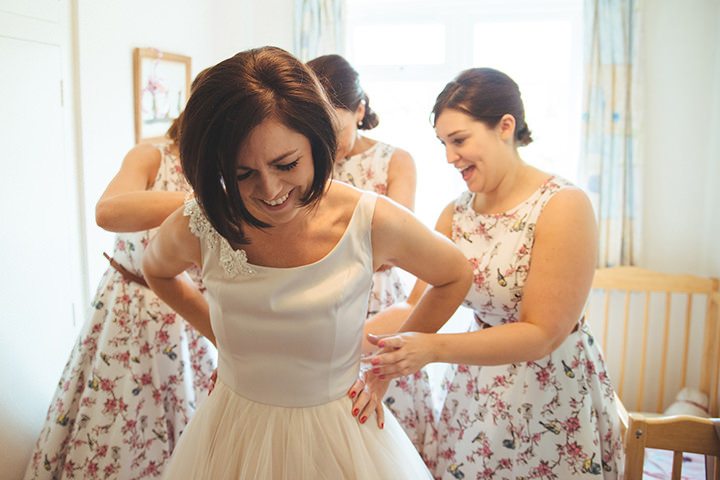 9 Vintage Barn Wedding with a Candy Anthony Dress. By Tom Halliday