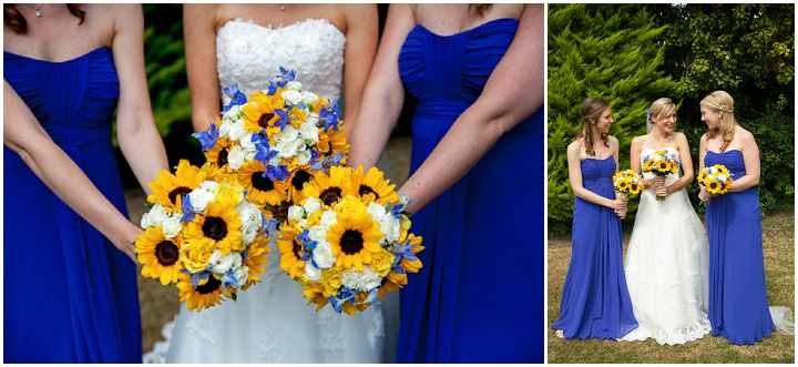 Marcus and beckis blue and yellow sunflower wedding by jessica 13 sunflower wedding by jessica grace photography junglespirit Gallery