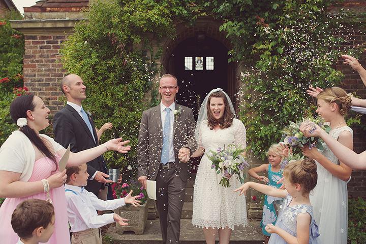 15 Garden Party Wedding By Rebecca Douglas